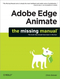 Adobe Edge Animate: The Missing Manual | O'Reilly Media