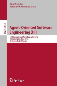 Agent-Oriented Software Engineering XIII | Springer