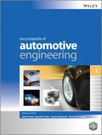 Encyclopedia of Automotive Engineering | Wiley