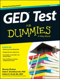 GED Test For Dummies, 3rd Edition | Wiley