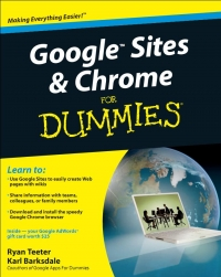 Google Sites and Chrome for Dummies | Wiley