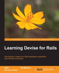 Learning Devise for Rails | Packt Publishing