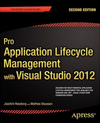 Pro Application Lifecycle Management with Visual Studio 2012, 2nd Edition | Apress