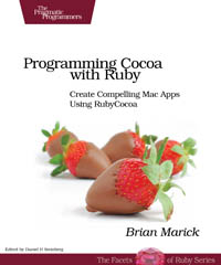 Programming Cocoa with Ruby | The Pragmatic Programmers